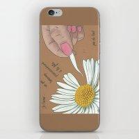 Je T'aime...un Peu...bea… iPhone & iPod Skin