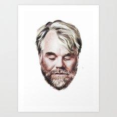 Philip Seymour Hoffman Portrait Art Print