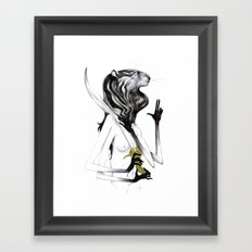 A Forest's Guardian 2 Framed Art Print