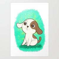 Lil Puppy Art Print