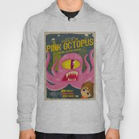 Pink Octopus From Outer … Hoody