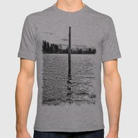 Scenic Solitude Mens Fitted Tee Athletic Grey SMALL