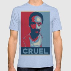 Cruel Cruelcruelcruel Mens Fitted Tee Athletic Blue SMALL