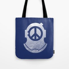 Peacediver II Tote Bag