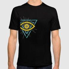 Illuminati Mens Fitted Tee Black SMALL