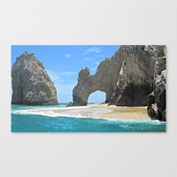 Los Arcos, Lands End Arch, Mexico Canvas Print