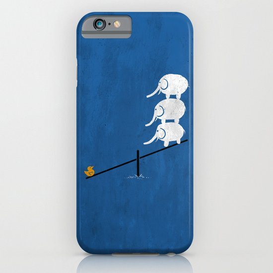 No balance iPhone & iPod Case
