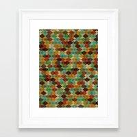 Deckled Formation Framed Art Print