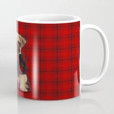 The Plaid Poncho'ed Pug Mug