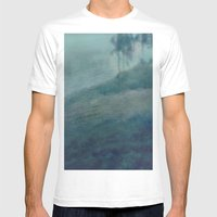 Blue dream Mens Fitted Tee White SMALL