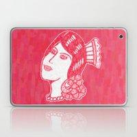 Lady From Spain Laptop & iPad Skin