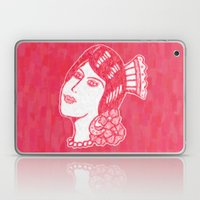 Lady From Spain Laptop & iPad Skin