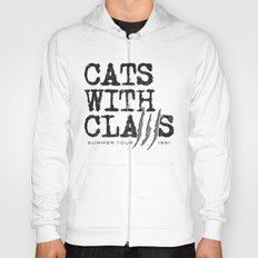 Cats With Claws concert t-shirt Hoody
