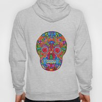 A Really Colourful Skull Hoody