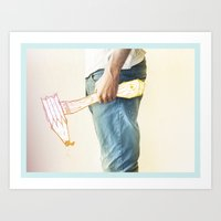 Creative weapon #1 Art Print