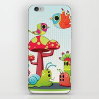 Critter Romance iPhone & iPod Skin