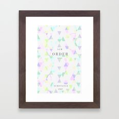 New Order Framed Art Print
