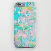 iPhone Cases featuring Candied Marble by Tyler Spangler