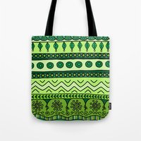 Yzor Pattern 003 Green Tote Bag