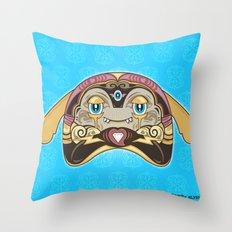 RUFUS (has a heart that shines like a diamond) Throw Pillow