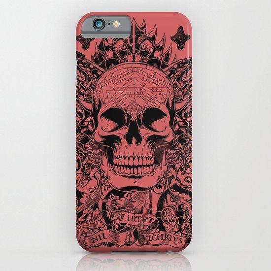 Cobra skull iPhone & iPod Case