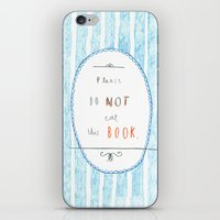 Please Don't Eat This Bo… iPhone & iPod Skin