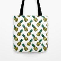 Neo-Pineapple - Pineapple Tote Bag