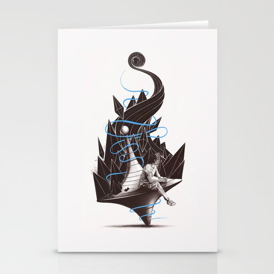 Trying To Find A Balance Stationery Card