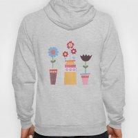 Floral Pots Hoody