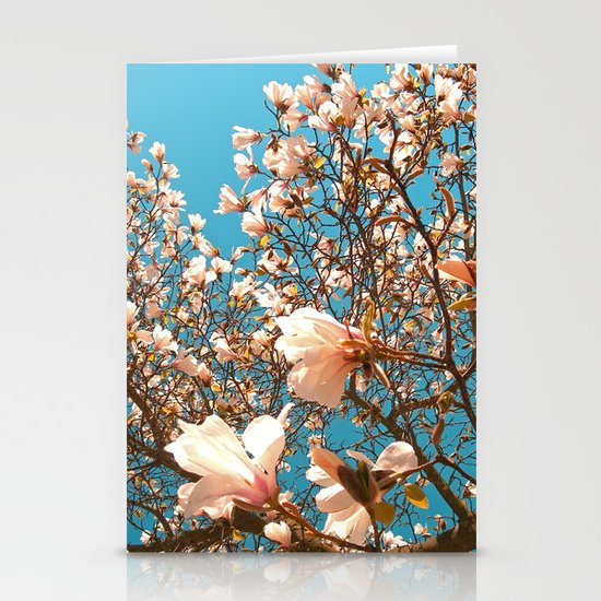 magnolia tree II Stationery Card