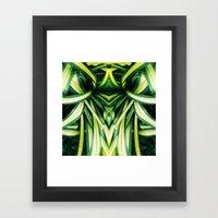 50 Shades of Green (3) Framed Art Print