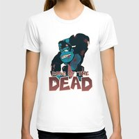 Kong Of The Dead Womens Fitted Tee White SMALL