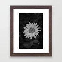Black and White Framed Art Print