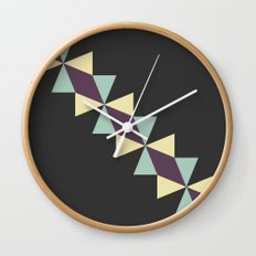 Oragami Traingles Wall Clock