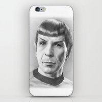 Spock - Fascinating (Sta… iPhone & iPod Skin