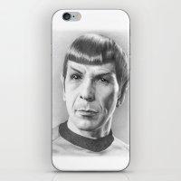 Spock - Fascinating (Star Trek TOS) iPhone & iPod Skin