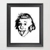 Albert Einstein. Rebel: … Framed Art Print