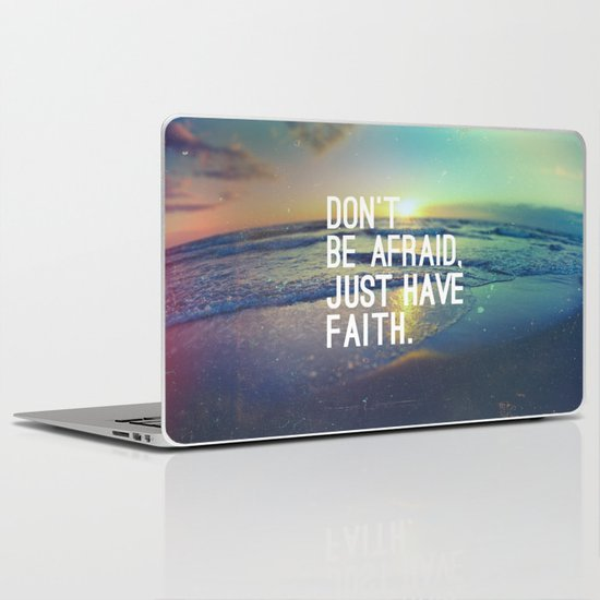 JUST HAVE FAITH Laptop & iPad Skin