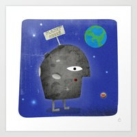 Charlie Sheen - Planet S… Art Print