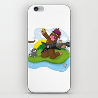 Bigfoot Rocks! iPhone & iPod Skin