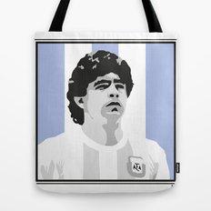 Maradona Tote Bag