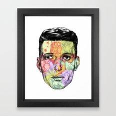 Mescaline Framed Art Print