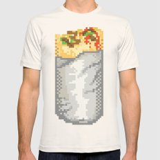 San Francisco Mission Burrito Mens Fitted Tee Natural SMALL