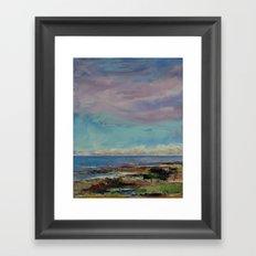 California Seascape Framed Art Print
