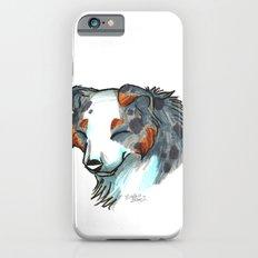 Brush Breeds-Australian Shepherd iPhone 6 Slim Case