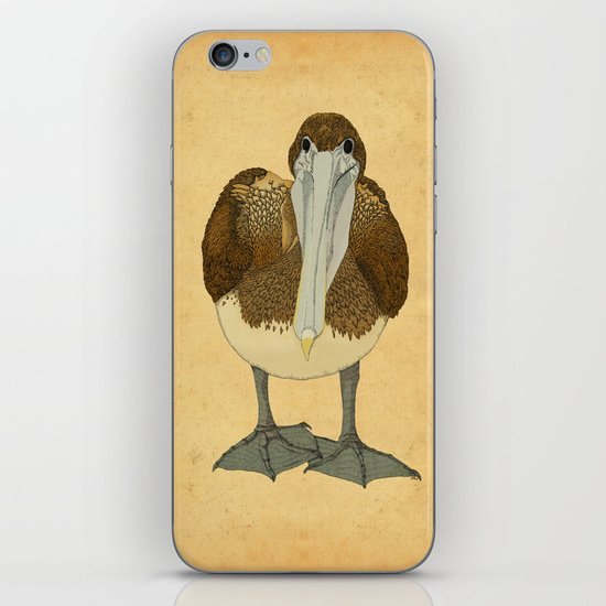 Ploffskin Pluffskin Pelican Jee iPhone & iPod Skin