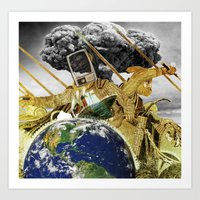 this ship is sinking Art Print
