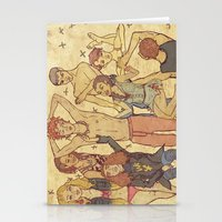 Teen Drama Stationery Cards