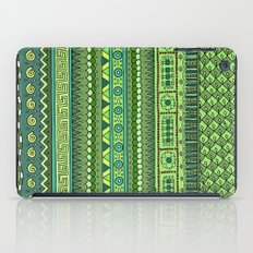 Yzor pattern 009 green-blue summer iPad Case