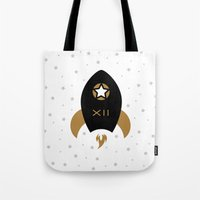 Spaceship #12 Tote Bag